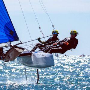 Järvinen och Kurtbay skaffade en OS-plats åt Finland i Nacra 17 klassen.