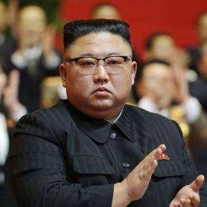 Nordkoreas ledare Kim Jong-Un upphöjdes till det Nordkoreanska Arbetarpartiets generalsekreterare.