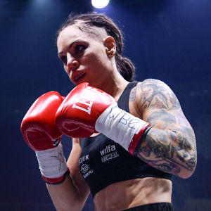 Eva Wahlström, gala 2017.