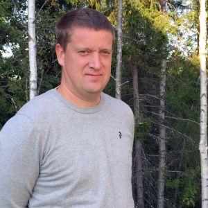 Jan Slotte på Skogsvårdsföreningen Österbotten.
