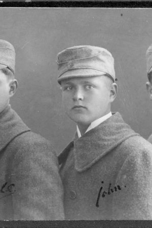Carl-Rudolf, John och Gustav Gardberg