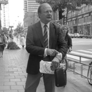 Stig Engström, även kallad Skandiamannen utpekas som Olof Palmes mördare av chefsåklagare Krister Petersson 10.6.2020.