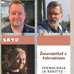 Kuvassa Innovaatiot ja tulevaisuus -osaston esittelykuva