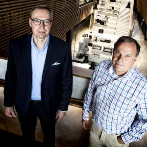 Olof Malmström och Johan Bobacka