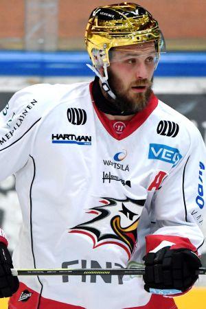 Sports guldhjälm Jonne Virtanen.