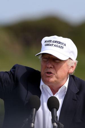 Donald Trump i Skottland den 24 juni 2016.