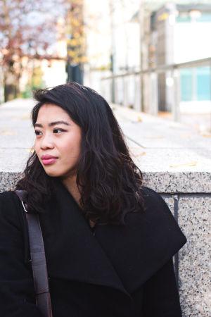 Porträtt på Jessica Etania