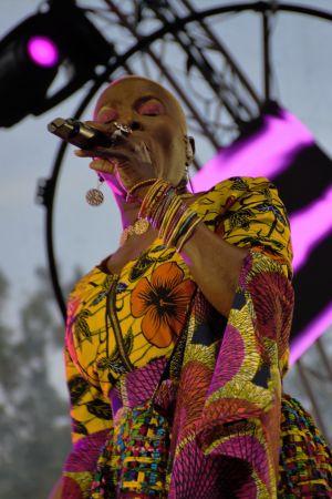Bild på sångerskan Angélique Kidjo.
