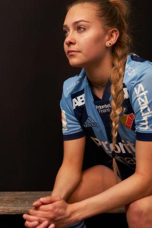 Wilma Sjöholm representerar Djurgården i Allsvenskan.
