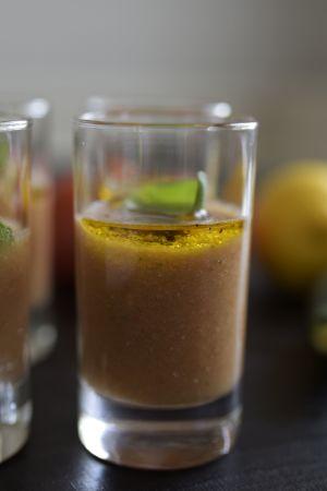 Gazpacho i små glas