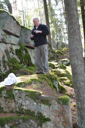 Bengt Wahlroos i Eskilom.