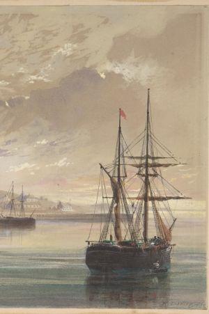 Robert Charles Dudleyin maalaus