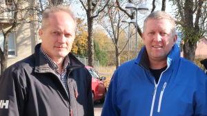 Pekka Purunen och Markku Salminen.