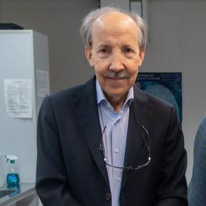Kari Alitalo och Ibrahim Sultan.