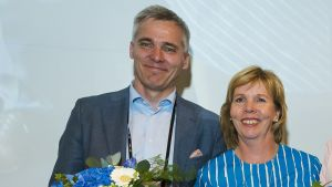 SFP:s Anders Adlercreutz och Anna-Maja Henriksson.