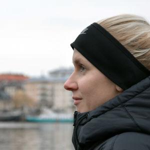 Sandra Eriksson med Sportliv-logo.