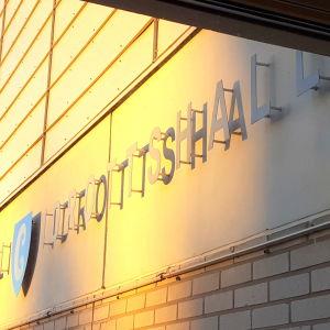 Idrottshallen i Borgå.