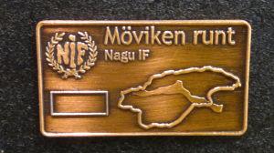 Möviken runt-medaljen i Nagu
