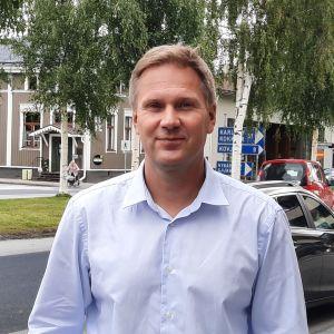 Stadsdirektör Mats Brandt i Nykarleby.