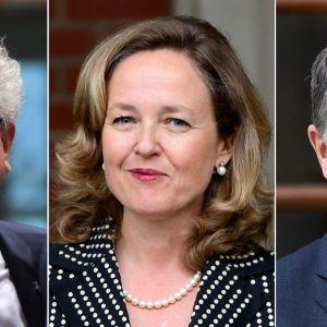 Bild på de tre kandidaterna.