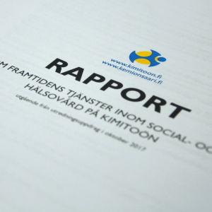 Kimitoöns rapport om social- och hälsovården.
