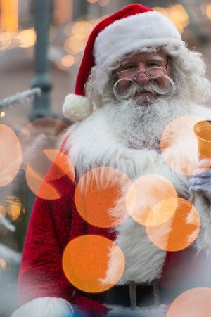 Julgubbe i Tyskland.