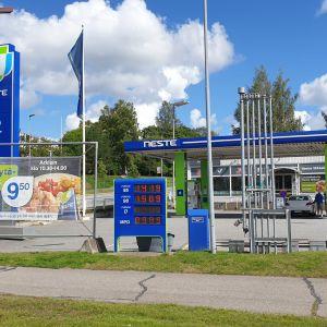 Neste Mikkeli huoltoasema.