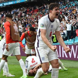England firar i EM.