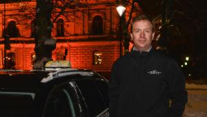 Taxichaufför Lars Salomaa