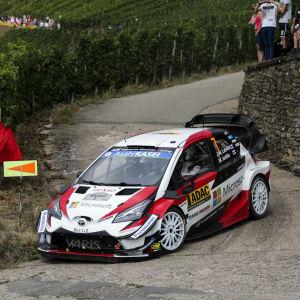 Jari-Matti Latvala kör i Tyskland