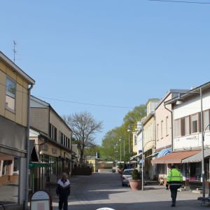 Köpmansgatan i Pargas