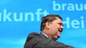 Den tyska politikern Bernd Posselt.
