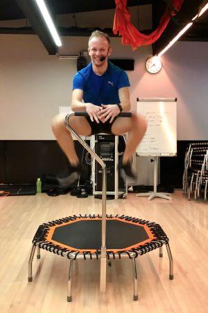 Jumping fitnessinstruktör Sebastian Selenius