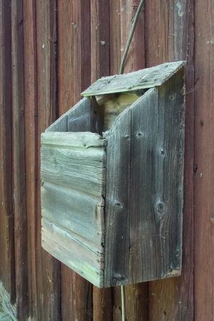 Gammal postlåda i Kilo, Yle