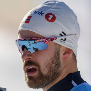 Sprintspecialisten Sondre Turvoll Fossli i Davos i december.