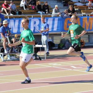 Seminarieskolan vann 5 x 80 meter för pojkar, Stafettkarnevalen 2018.