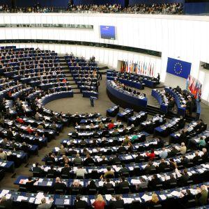 Europaparlamentets plenisal i Strasbourg