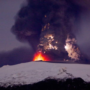 Vulkanen Eyjafjallajökulls utbrott år 2010