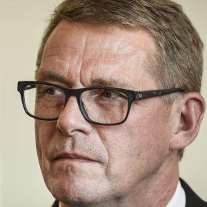 Riksdagens talman Matti Vanhanen.