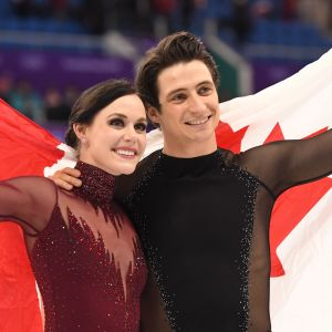 Tessa Virtue och Scott Moir.