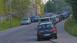 Parkering på kalstrandsvägen