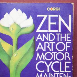 """Robert M. Pirsigs bok """"Zen och konsten att sköta en motorcykel"""""""