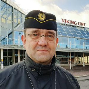 Veli-Pekka Nurmi i Åbo i november 2020.