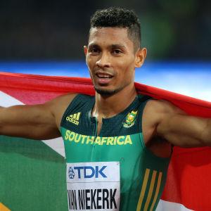 Wayde van Niekerk är regerande världsmästare på 400 meter.