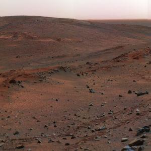 Bild på Mars.