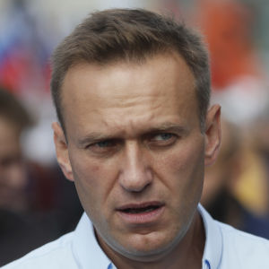 Den ryska oppositionsledaren Aleksej Navalnyj