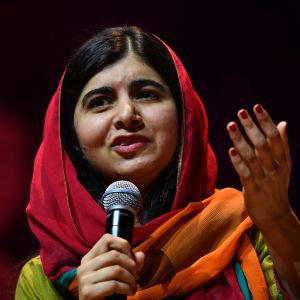 En arkivbild på Malala Yousafzai vid ett evenemang i Sydney, Australien i december 2018.