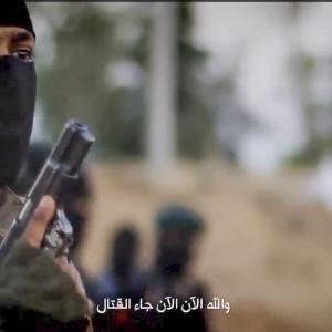 bild från IS propagandavideo