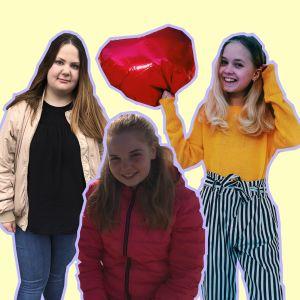 Mie Frostdahl, Felicia Sundström och Moa Gripenberg