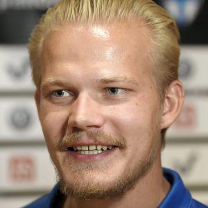 Joel Pohjanpalo i landslaget.